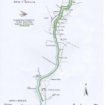 Afon Dwyfor Cefn Uchaf Rhyd y Benllig