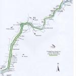 Afon Dwyfor Rhyd y Benllig Llanystumdwy