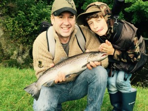 Steve Barrott 4lb Sea Trout